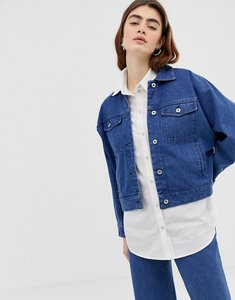 Read more about Kowtow formation boxy denim jacket in organic cotton - denim