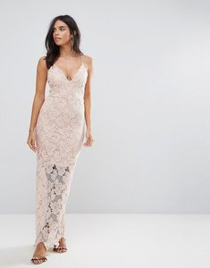 Read more about Ax paris blush lace maxi dress - blush