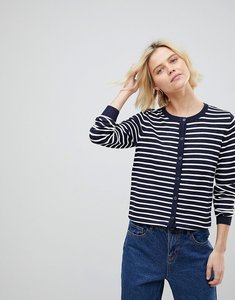 Read more about B young stripe cardigan - combi 1