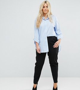 Read more about Junarose relaxed fit trousers - black