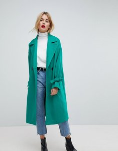 Read more about Vero moda coat with sleeve detail - green