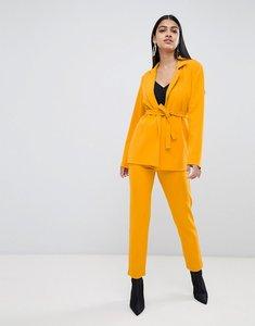 Read more about Lasula cigarette trouser in yellow