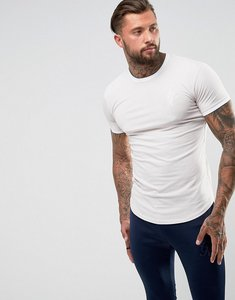 Read more about Gym king muscle ringer t-shirt in stone - stone