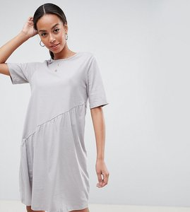 Read more about Noisy may tall asymmetric jersey dress