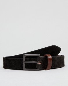Read more about Peter werth brown suede belt with contrast keeper - brown