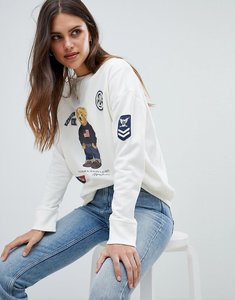 Read more about Polo ralph lauren bear capsule sweatshirt - white