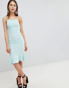 Read more about New look peplum strappy midi dress - mint green