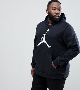 Read more about Nike jordan plus flight fleece pullover hoodie in black ah4507-010 - black