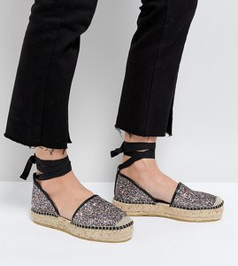 Read more about Free people glitter espadrilles - assort glitter