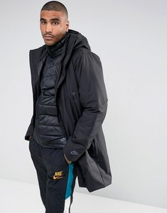 Read more about Nike aeroloft down filled 2 in 1 coat in black 863730-010 - black