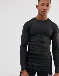 Read more about Hiit muscle fit long sleeve tshirt in black