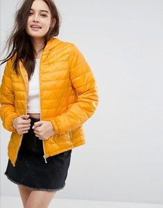 Read more about New look lightweight padded jacket - dark yellow
