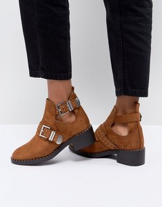 Read more about Pimkie cut out heeled ankle boots - camel