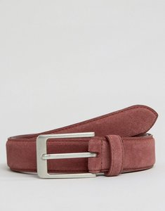 Read more about Barneys suede belt - red