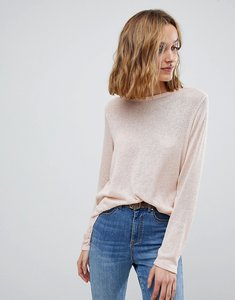 Read more about Vero moda long sleeve jumper - rose cloud