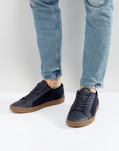 Read more about Aldo sigrun lace up plimsolls in navy - navy