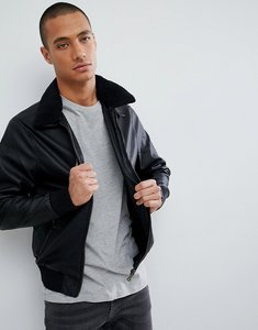 Read more about Barneys faux leather jacket - black