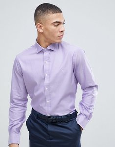 Read more about Polo ralph lauren oxford shirt regular fit cutaway collar in lilac - wild lavender