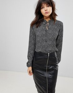 Read more about B young spotty blouse - combi 1