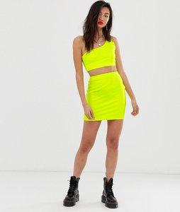 Read more about Asos design neon bodycon mini skirt