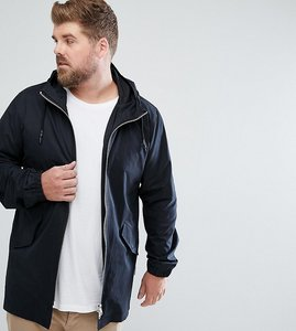 Read more about Bellfield plus lightweight parka - black