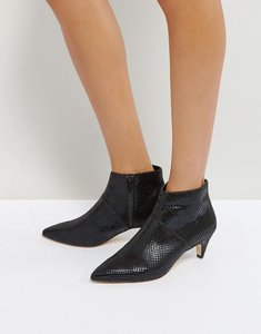 Read more about Office acid kitten heel boots - black