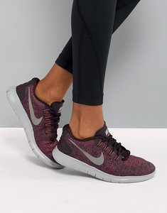 Read more about Nike running free run trainers in burgundy - bordeaux mtlc pewter