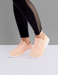 Read more about Asics running fuzetora trainers in apricot - orange
