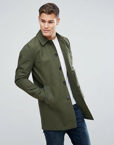 Read more about Asos shower resistant single breasted trench coat in khaki - khaki