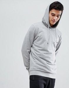 Read more about Jack jones originals hoodie with chest branding - light grey melange