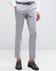 Read more about Noose monkey super skinny suit trousers - pale grey