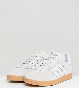 Read more about Adidas originals pastel gazelle trainers - multi
