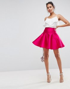 Read more about Asos mini full prom skirt - pink