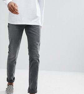 Read more about Asos design tall skinny jeans in vintage washed black - washed black