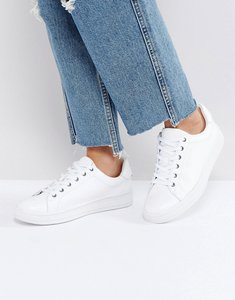 Read more about Calvin klein black label solange clean white trainers - white white