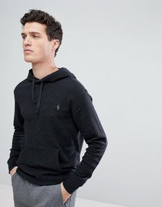 Read more about Polo ralph lauren lightweight overhead hoodie in charcoal marl - charcoal
