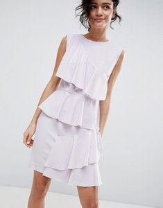 Read more about 2ndday tiered ruffle dress - lavender fog