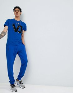 Read more about Versace jeans skinny joggers in blue - blue