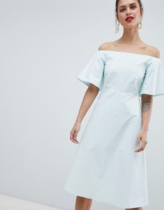 Read more about Closet london off the shoulder dress - mint