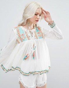 Read more about Raga coastland tassle blouse - aqua