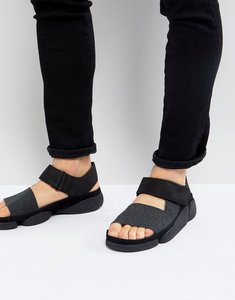 Read more about Clarks originals trigenic evo leather sandals - black
