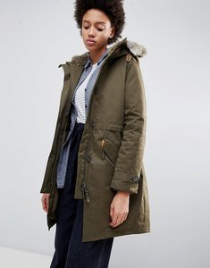 Read more about Parka london lucinda parka coat with faur fur trim hood