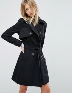 Read more about Asos classic trench coat - black