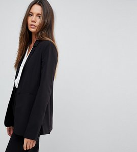 Read more about Asos tall the tailored blazer mix match - black
