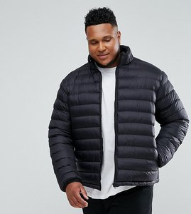 Read more about French connection plus padded jacket - black