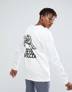 Read more about Volcom sweatshirt with back print - white