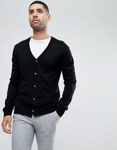Read more about French connection man cardigan - black