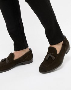Read more about H by hudson aylsham suede loafers in brown - brown