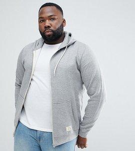 Read more about Blend plus zipthru hoodie in grey melange - grey