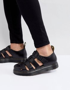 Read more about Dr martens vibal closed sandals in black - black